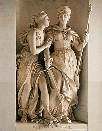 Iustitia e Clemetia