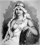 Gravura de Freya-Mardöll por Jenny Nyström (1854-1946)