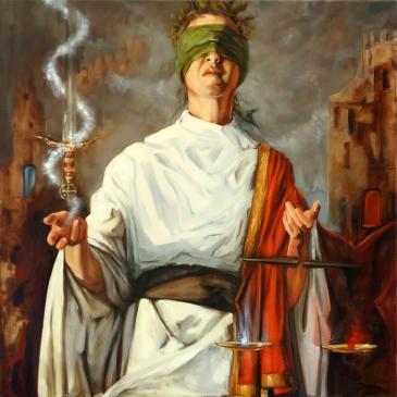 Deusa vendada Iustitia