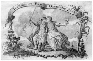 Deusas Iustitia e Pax