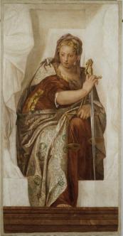 Justitia : Gemaelde von Veronese