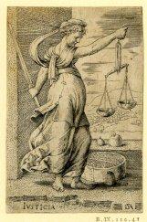 Justitia Print by- Cornelis Massijs 1550