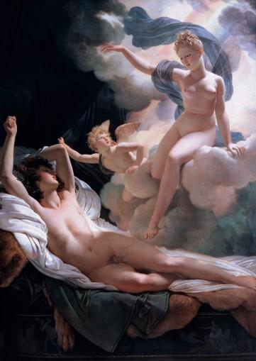 Morfeus e íris por Guerin Pierre Narcisse