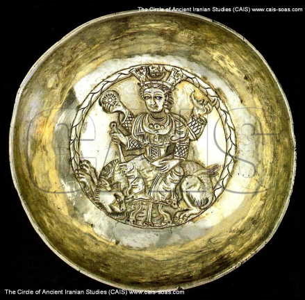 4th_c-_sasanian_bowl_anahita_sitting_on_a_lion_bm-wm