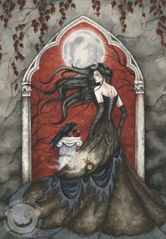 49e0ef9157aa7cf1caf9cdfe6288c724--raven-queen-fantasy-pictures