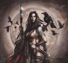 Morrigan-battlegoddess