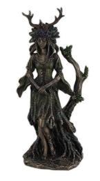 Estátua moderna da Deusa Druantia