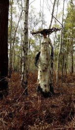 Foto de Mulher na natureza que poderia ser encarada como a deusa druantia