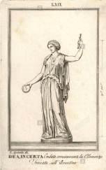 Deusa desconhecida que acredita-se ser Clementia